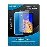 SWIDO Schutzfolie für Samsung Galaxy J4 Core [2 Stück] Kristall-Klar, Hoher Härtegrad, Schutz vor Öl, Staub & Kratzer/Glasfolie, Bildschirmschutz, Bildschirmschutzfolie, Panzerglas-Folie