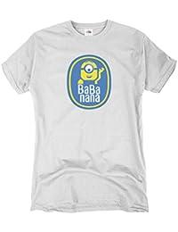 GIOVANI & RICCHI Kinder T-Shirt Banana Mächen und Jungen Shirt minions in verschiedene Farben