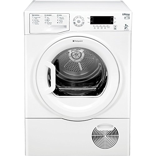 Hotpoint Ultima S-Line SUTCD GREEN 9A1 Tumble Dryer - White