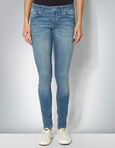 Pepe Jeans Damen Jeans Pixie Baum Wolle Denim-Hose Unifarben, Größe: 29/30, Farbe: Blau -