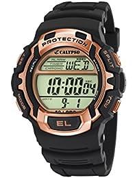 Calypso watches Herren-Armbanduhr XL Digital Quarz Plastik K5573/8