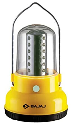 Bajaj LEDGlow 424 LRD 24-LED Rechargeable Lantern (Yellow)