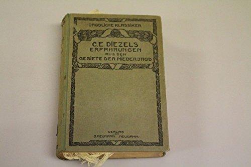 Unbekannt C. E. Diezels Erfahrungen aus Dem Gebiete der Niederjagd 1849/50 Verlag Neumann