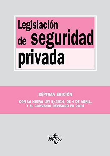 Descargar Libro Legislación De Seguridad Privada (Derecho - Biblioteca De Textos Legales) de Editorial Tecnos