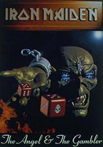 Iron Maiden Póster Angel & Gambler (Incluye Artículo adicional)