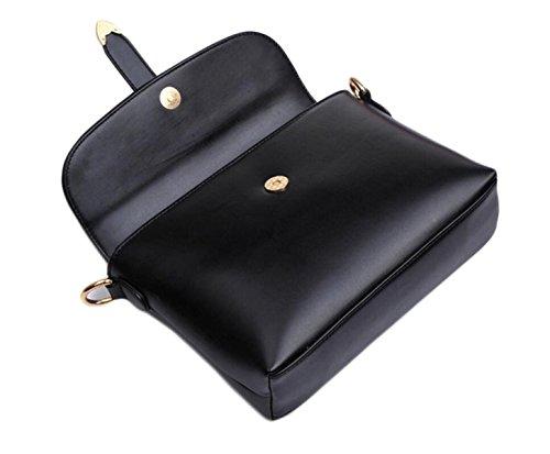 Modelli Estivi Piccole Fresche Retro Sacchetto Di Spalla Casuale Pacchetto Diagonale Borse Moda Marea Black