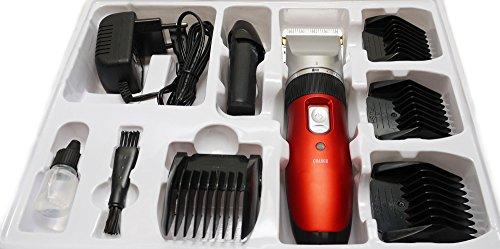 Akku-Profi-Haarschneider-Haarschneidemaschine-ideal-fr-Friseur-Salon-oder-privaten-Gebrauch-Set-mit-umfangreichem-Zubehr-Netz-und-Akkubetrieb