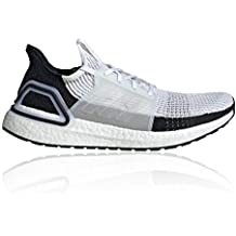 best website b2285 61340 adidas Ultra Boost 19 White White Grey Two