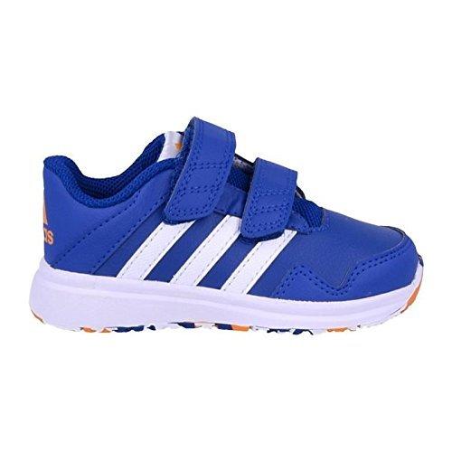 adidas Performance Unisex Baby Snice 4 Sneaker Blau Blue S16/Ftwr White/EQT Orange S16), 23 EU - Performance-einlagen