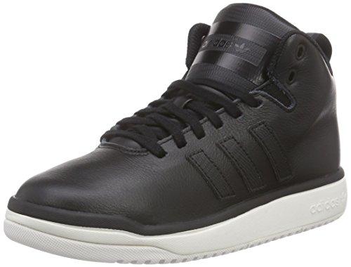 adidas Veritas Lea, Chaussures de Basketball mixte adulte Noir - Schwarz (Core Black/Core Black/Chalk White)