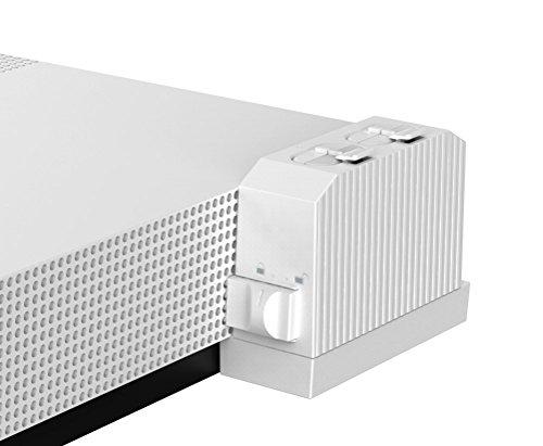 AmazonBasics   Cargador de batería de mando (para consola Xbox One S)  blanco