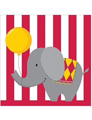 Servietten Kleiner Zirkus - Bachelorette Party Kostüm Themen
