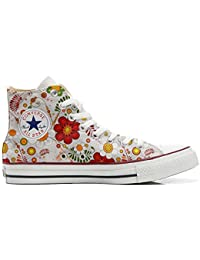 mys Converse All Star Customized - Zapatos Personalizados (Producto Artesano) Floral Paisley
