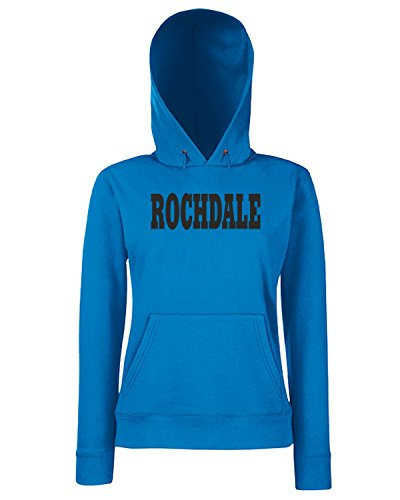 T-Shirtshock - Sweats a capuche Femme WC0766 ROCHDALE Bleu Royal