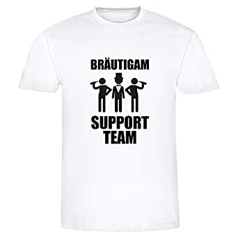 T shirt br utigam support team fun shirt for I support two teams t shirt