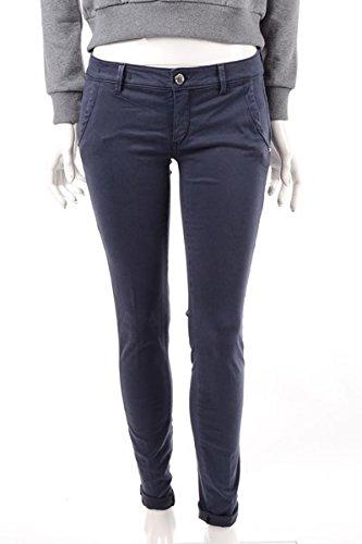 Pantalone Donna Camouflage 33 Blu Chantal R Rw Autunno Inverno 2014/15