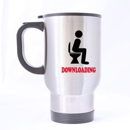 Funny Design Cool Man In Toilettes\