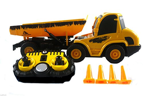 Ukayed RC Dumper Distant Radio Management Building Constructing Website Engineering Machine Dumper Truck
