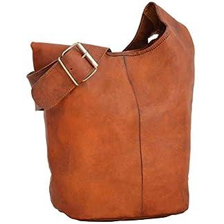 "41XG4BEJDUL. SS324  - Gusti Bolso bandolera ""Josephine"" bolso cruzar bolso mediano vintage marrón cuero"