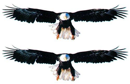 Preisvergleich Produktbild Aufkleber Adler im Flug 2er-Set ~~~~~ schneller Versand innerhalb 24 Stunden