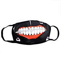Tokyo Ghoul Kaneki Ken Face Masks Muffle Zipper Cycling Anti-Dust Anime durable