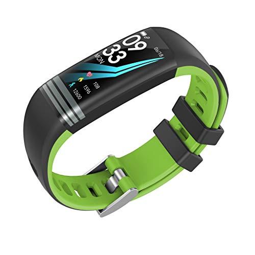 G26S Multifunktions-Farbbildschirm Fitness Herzfrequenz-Tracker Anruf Schlafüberwachung Information Benachrichtigung Touchscreen Smart Bracelet/für Android iOS-Geräte und Software