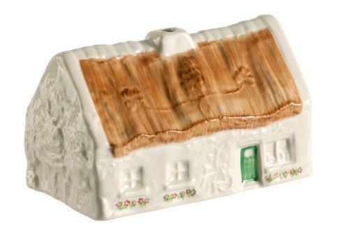 Belleek 1647 The Quiet Man Cottage Figurine, 5.5-Inch, White by Belleek Pottery Ltd