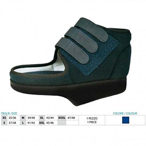 Zapato post-quirúrgico en talo (baruk) con borde lateral Art.150 Talla XXXL 47/48