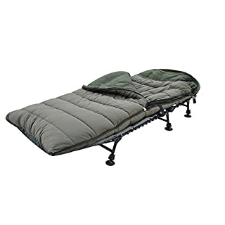ABODE® 5 Season Peach Skin Hollow Fill Twin Shell Deep Sleep Carp Fishing Sleeping Bag