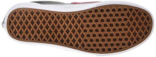 Vans Era Unisex-Erwachsene Sneakers Mehrfarbig (leather/plaid/rhubarb/black)