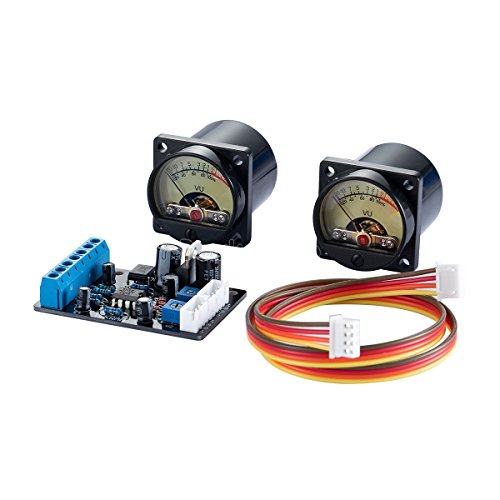 Nobsound® Audio Panel VU Meter analoge Anzeige Retro Style Drehspulmesswerk + Driver Board -