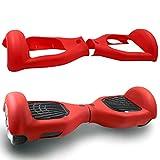 Cool&Fun Cubierta de Silicona Protector contra rasguños para 6,5 Pulgadas 2 Ruedas Self Balanceating Scooter (Rojo)