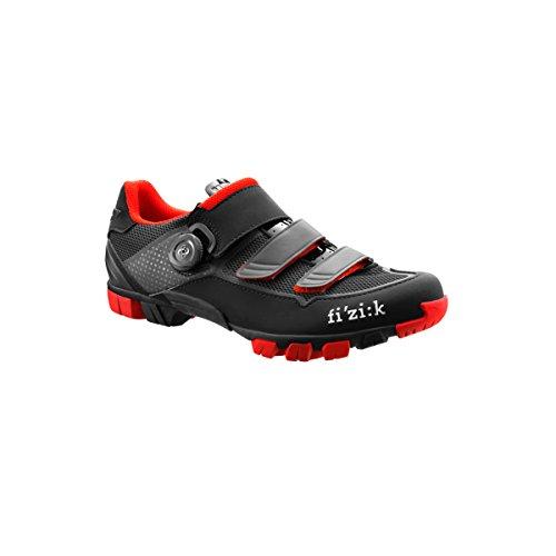Fizik , Herren Radsportschuhe Mehrfarbig multicolor Black / Red