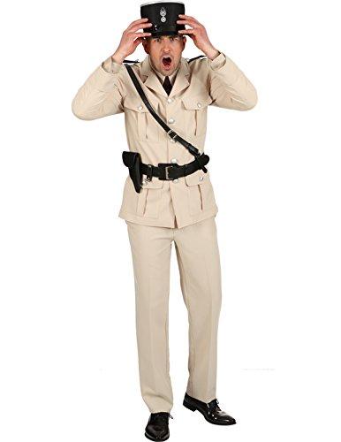 Französischer Polizist Jacke Hose, -
