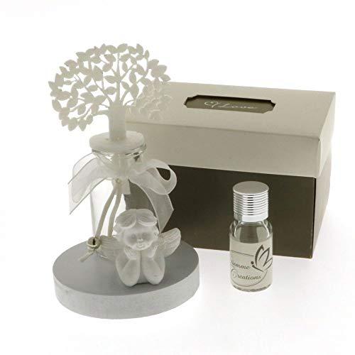 Publilancio srl angelo bianco profumatore albero della vita in scatola regalo bomboniera