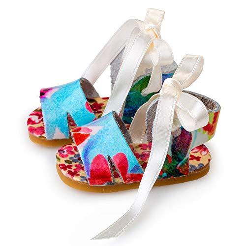 Berjuan- Zapatos 30 CM Sandalia Azul Ref: 80006-19, (80006)