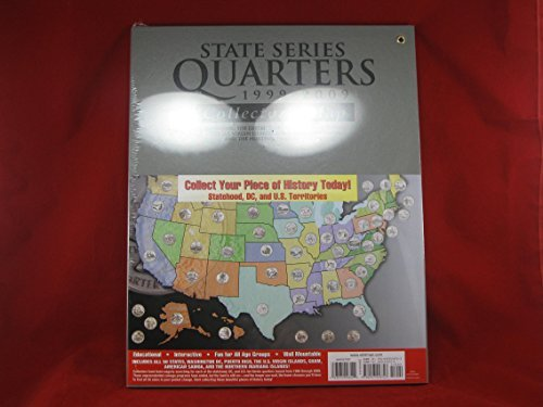 HE Harris US State Quarter Collector's Map by Harris (Us Quarter State Map)
