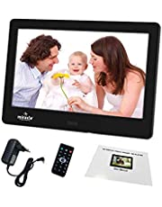 Miracle Digital 7-inch Media Frame with LCD Panel Screen, Motion Sensing Function and Supports SD, USB-Disk Card, Functional Remote Plays Photos Slideshow, Video, Audio (Black)