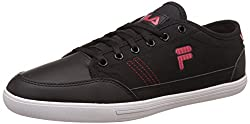 Fila Mens Vadro Black and Red Sneakers - 6 UK/India (40 EU)