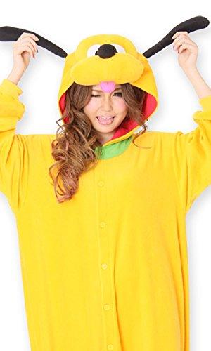 Disney Pluto Kostüm (Kostuem fuer Erwachsene Vlies Disney Disney [Pluto])