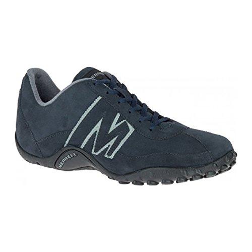 Merrell Sprint Blast Scamosciata, Sneaker Uomo, Marrone (Indaco J559963),  43.5 EU