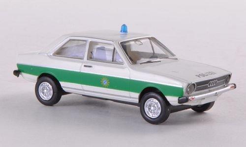 Audi 80, Polizei Bayern , Modellauto, Fertigmodell, Brekina Drummer 1:87