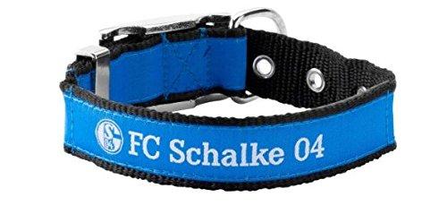 FC Schalke 04 Hundehalsband groß 45-60 cm (Katze Halsbänder Für Männer)