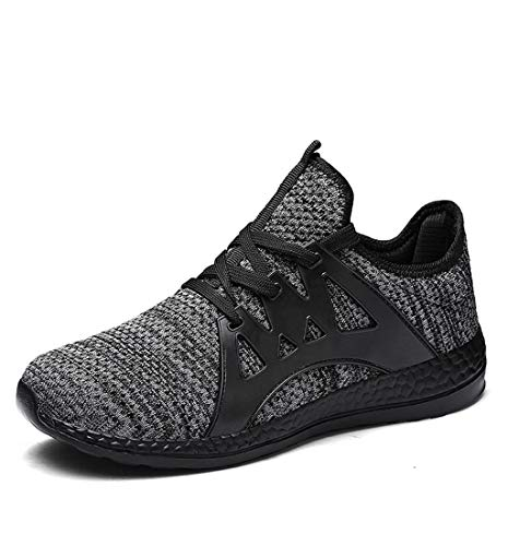 HupoopDamenmode Paar Freizeit Mesh atmungsaktiv Laufsport Schuhe Sneakers(Grau,40) (Kostüme Paar Mutterschaft)