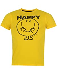 Mr Men Print T Shirt Mens