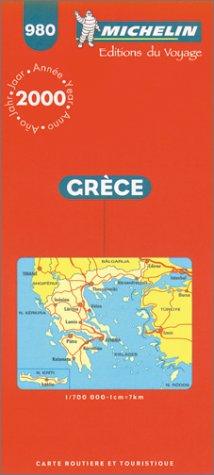 Grèce. Carte n° 980