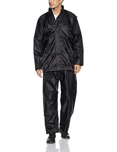 Hindustan Industries Men's Polyester Rain Suit 41XGE4ANW7L