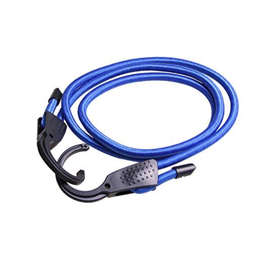 Kineca Einstellbare elastische Bungee Cords Koffergurte Seile Gurte Wäscheleinen mit Haken für Auto -