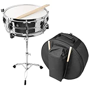 Essentials 14 Inch Snare Drum with Stand, Sticks and