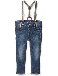 Tom Tailor Tim Blue Denim Suspenders, Jeans Garçon